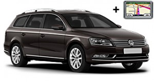 VW Passat estate + GPS