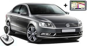 VW Passat automatic + GPS