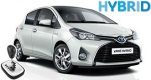 Toyota Yaris Hybrid automatic
