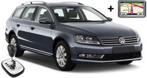 VW Passat estate automatic + GPS